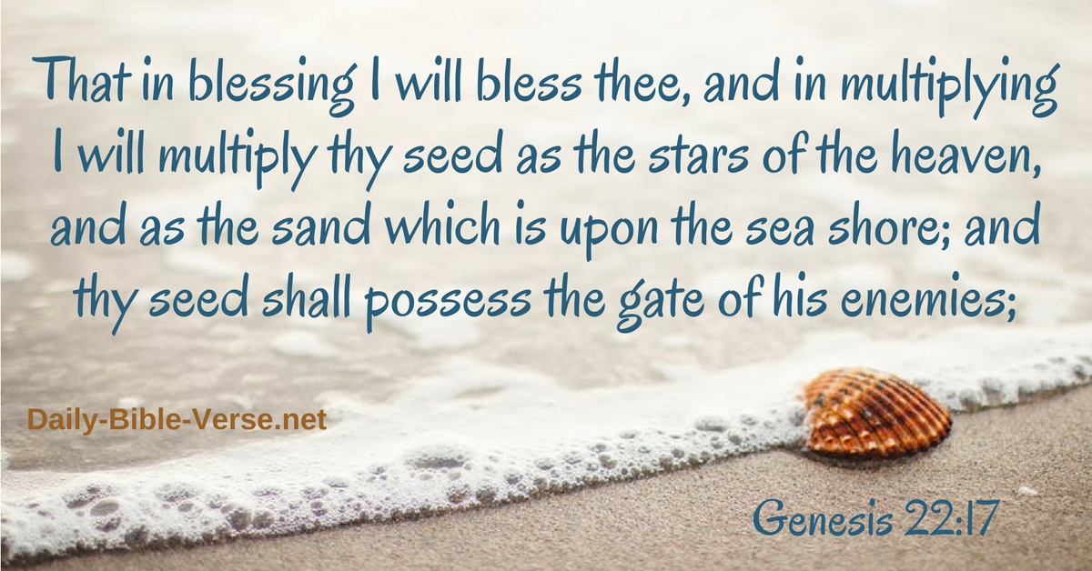 Daily Bible Verse | Promises of God | Genesis 22:17 (KJV)
