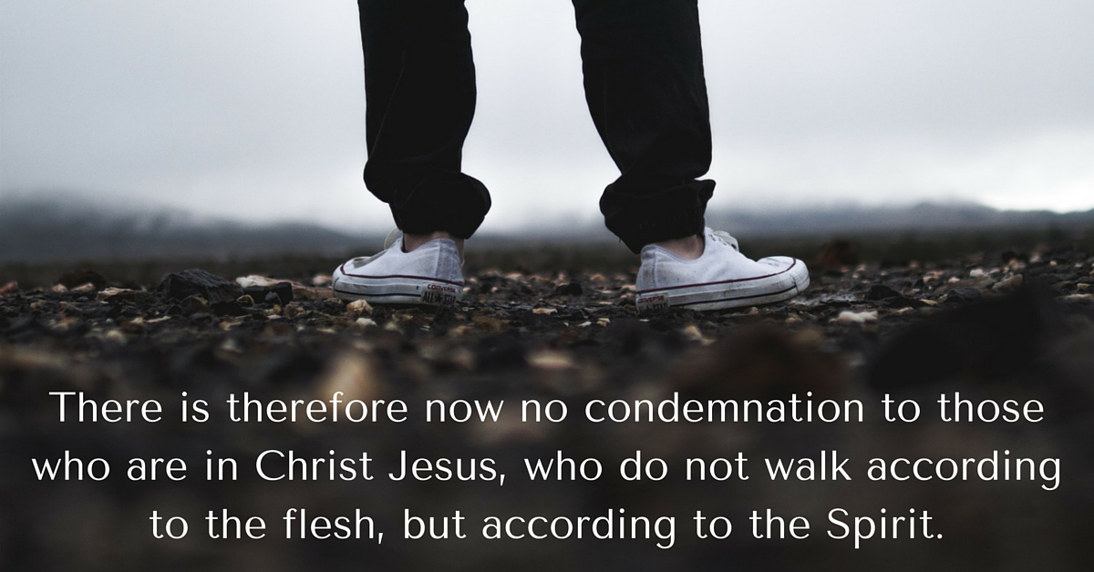 Daily Bible Verse | Freedom | Romans 8:1 (NKJV)
