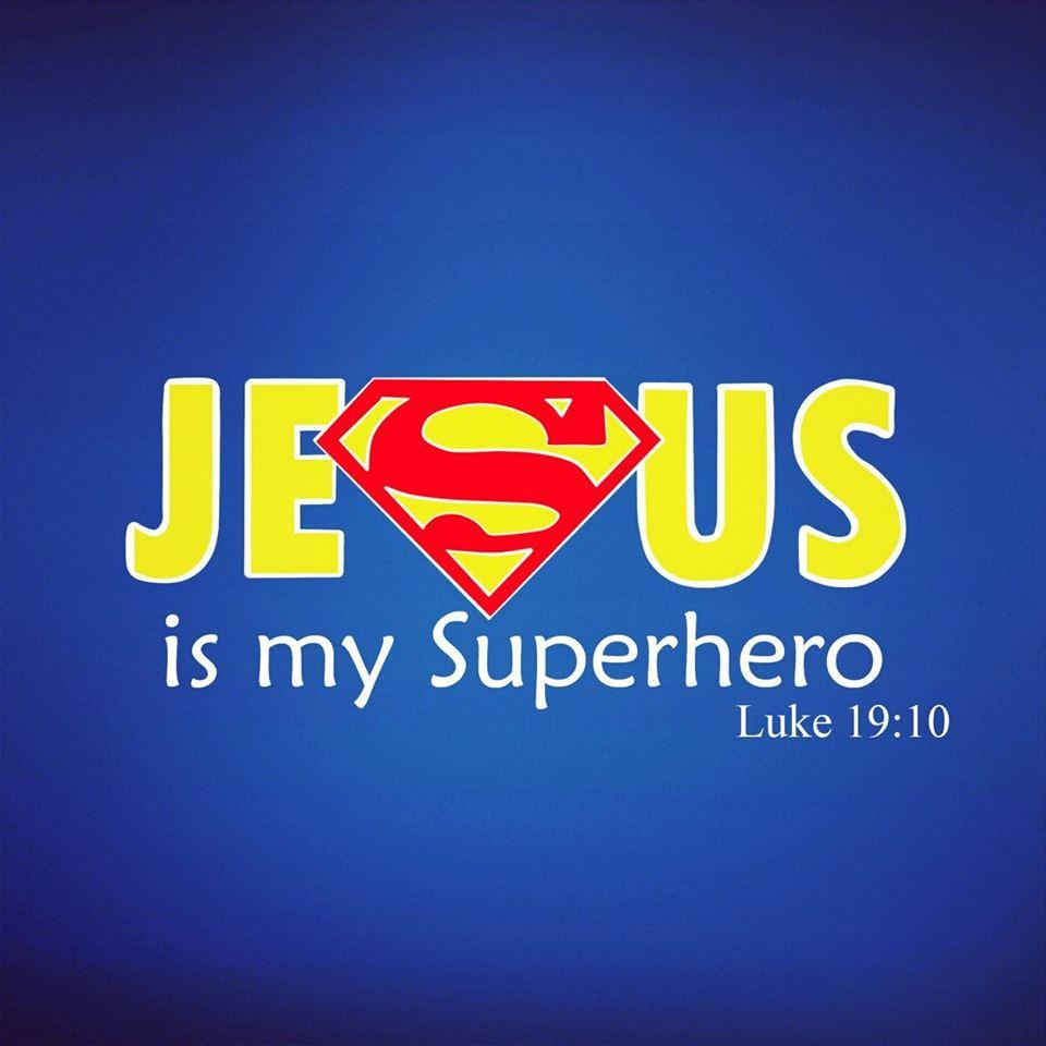 Daily Bible Verse | Jesus Chirst | Superhero